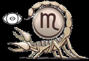 signe astrologique scorpion